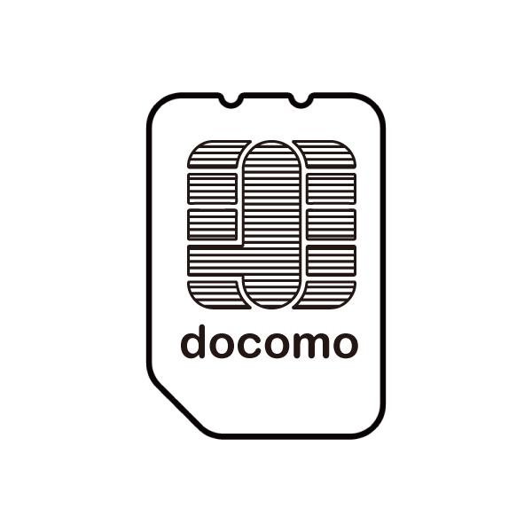 docomo回線SIMカードイメージ