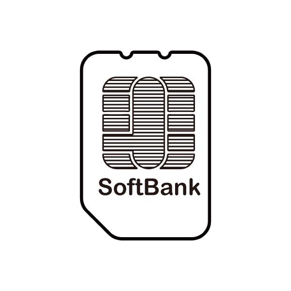 softbank回線SIMカードイメージ