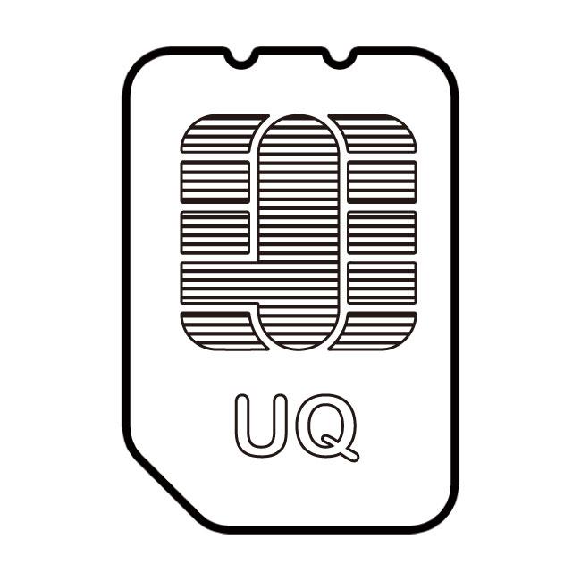 UQモバイルSIMカードイメージ