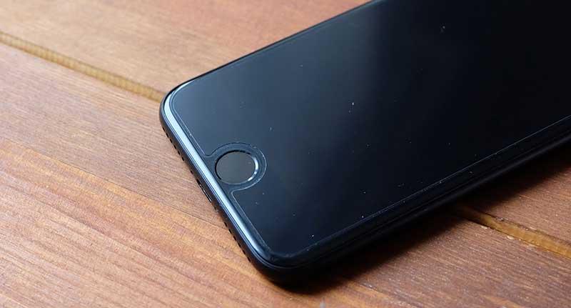 iPhone7のホームボタン