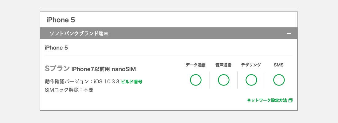 mineoのiPhone5対応状況