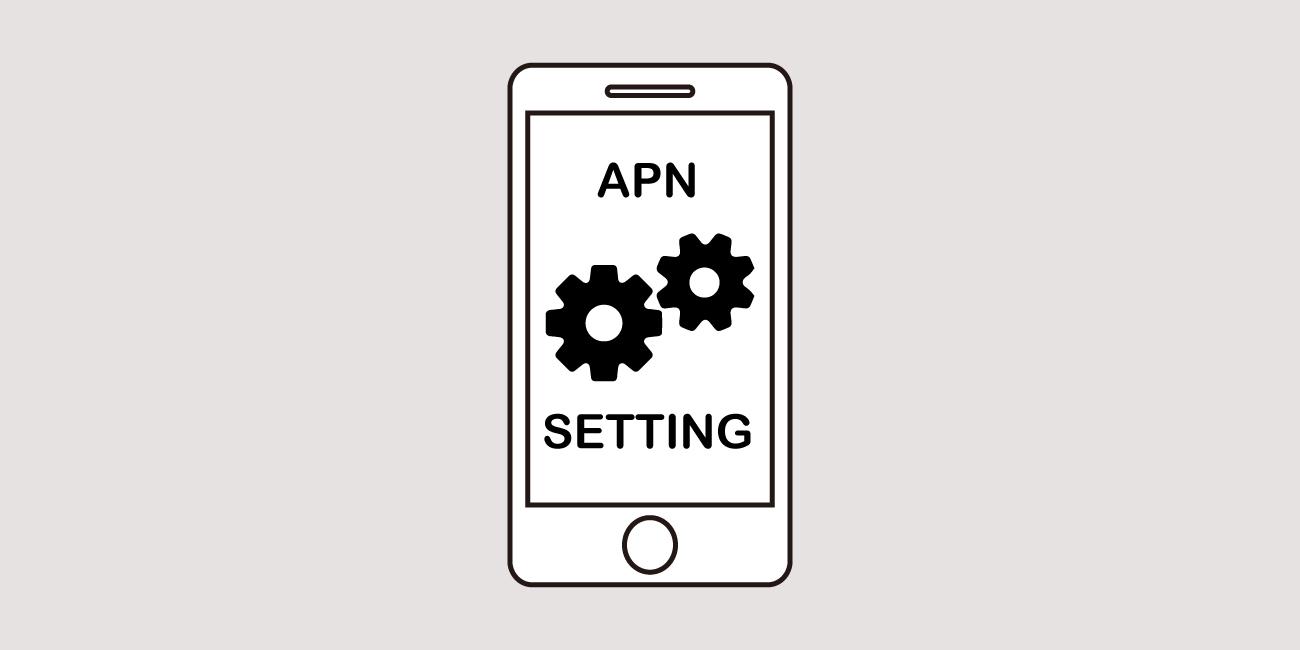 APN設定のイメージ