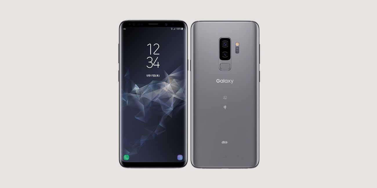 Galaxy S9+ SCV39のイメージ