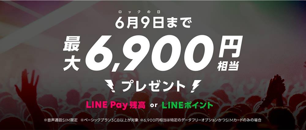 LINEモバイルロックの日キャンペーン