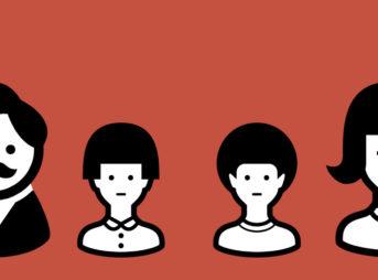 ワイモバイルの家族イメージ