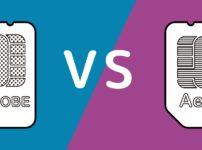 BIGLOBEモバイルとイオンモバイルの比較イメージ