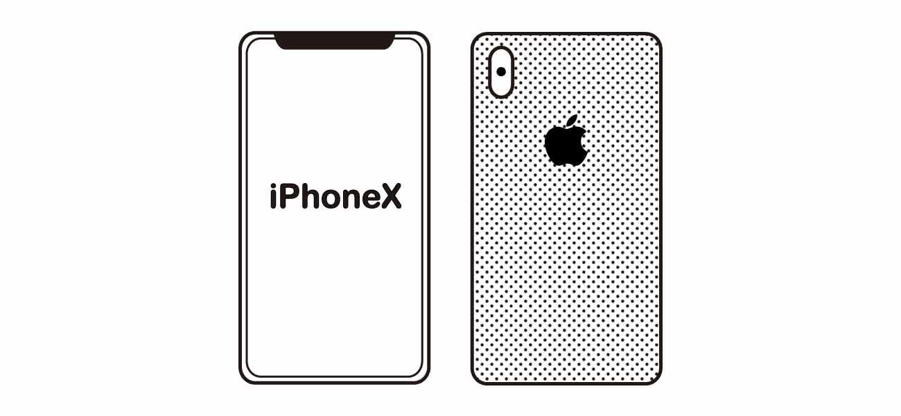 iPhoneXのイメージ