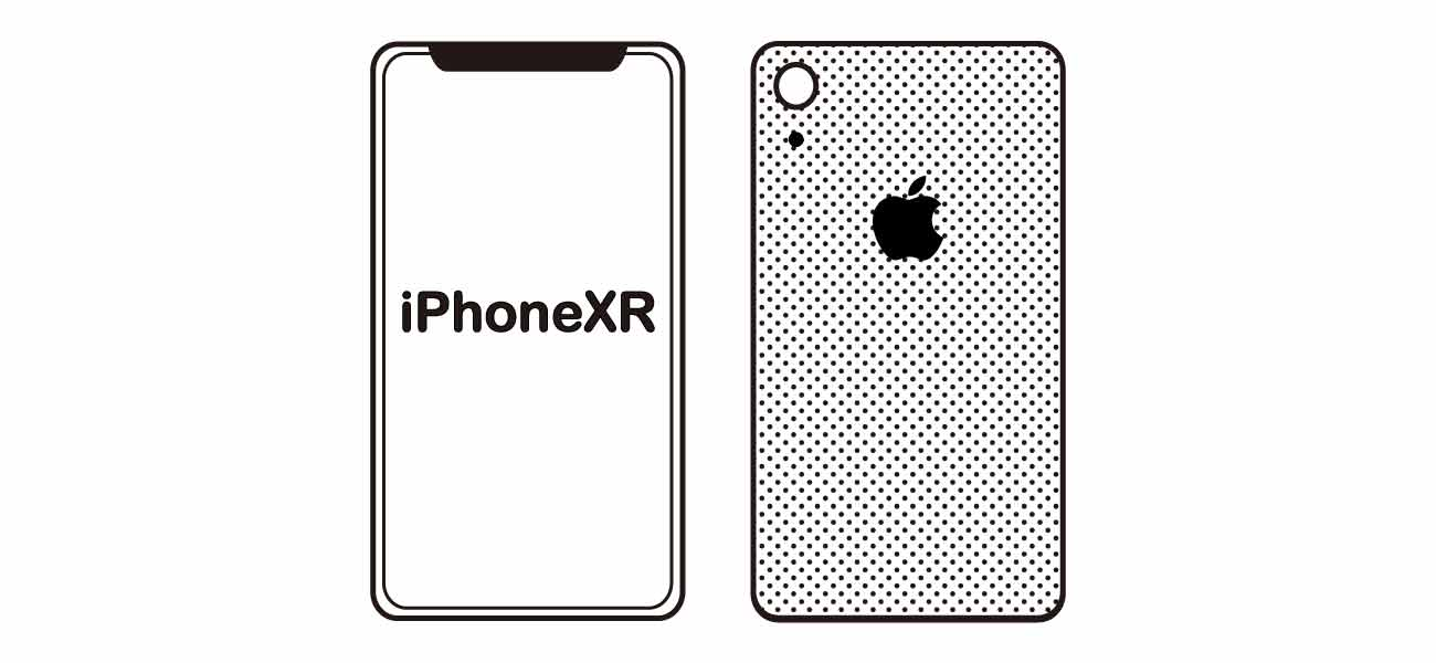 iPhoneXRのイメージ