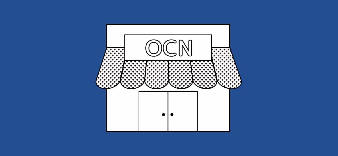 OCNモバイルの店舗イメージ