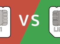 ワイモバイルとLINEモバイルの比較イメージ