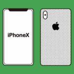 LINEモバイル×iPhoneXのイメージ