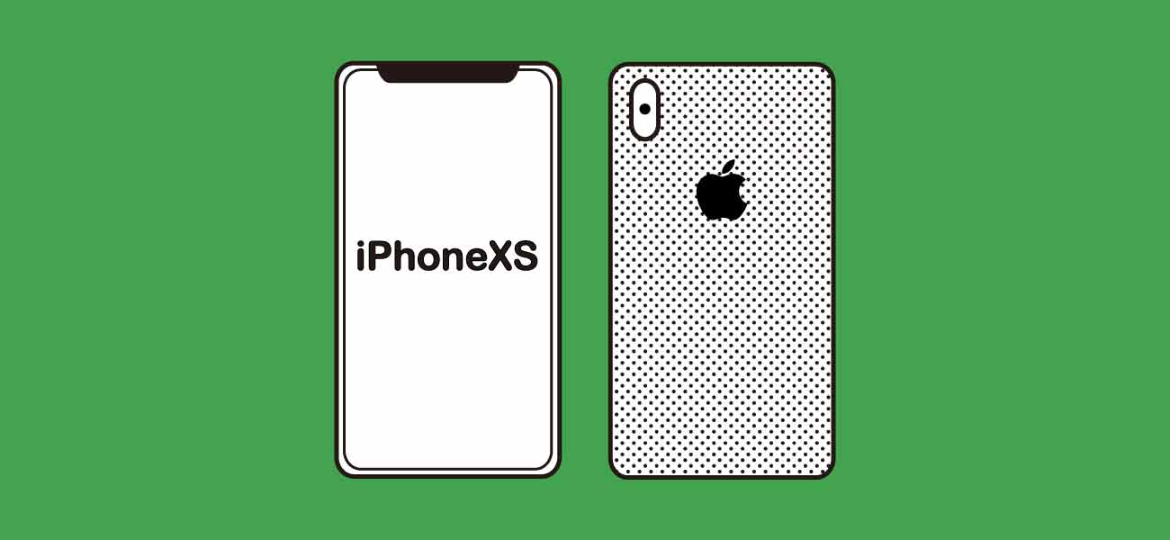 LINEモバイル×iPhoneXSSイメージ