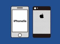 OCNモバイルONE×iPhone5sのイメージ