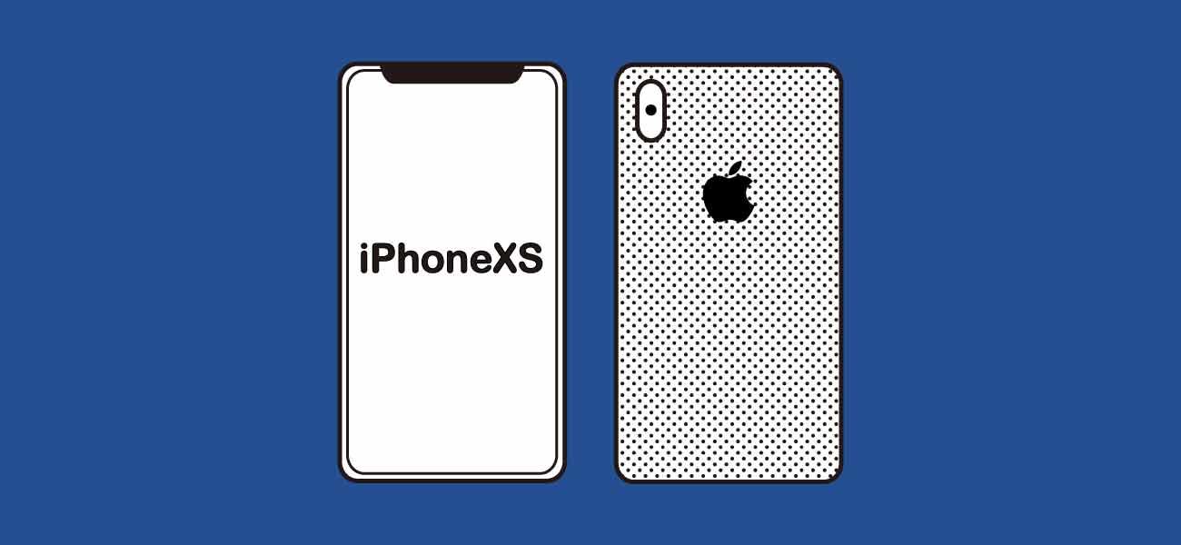 OCNモバイルONE×iPhoneXSイメージ